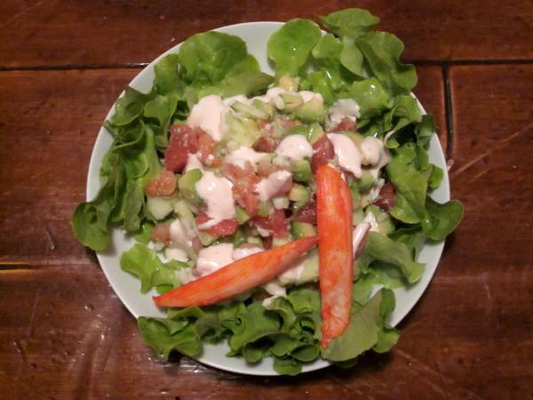 Salade océane de l'Amoureux