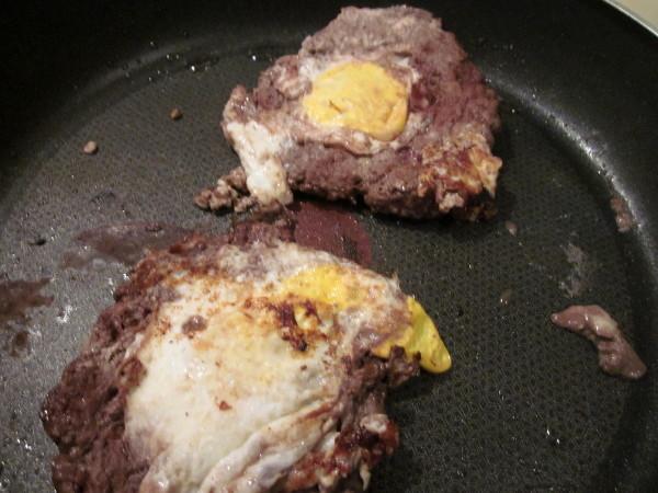 Steaks cuits