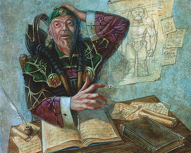 Urza Vian, l'éclair de génie